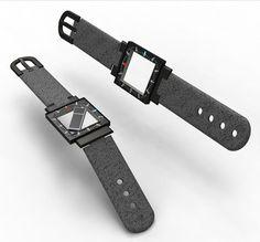 Hollow Wrist Watch #tech #amazing #modern #innovation #design #futuristic #gadget #ideas #craft #illustration #industrial #concept #art #cool