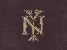 New York Monogram #york #ny #monogram #new