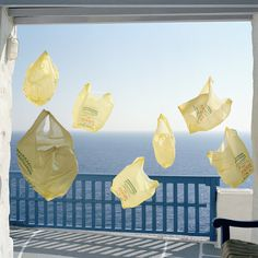 Yellow Bags #photography #art #installation