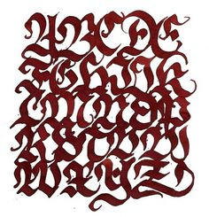 Calligraphy on the Behance Network #abc