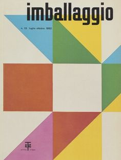 Max Huber, Imballaggio, 1952 #max #huber #design #graphic #cover #1952