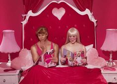 In The Dollhouse by Dina Goldstein #inspiration #pin-up #photography