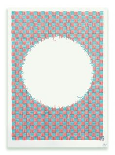 Losing the Plot - Poster - Hvass&Hannibal #poster #pattern #art