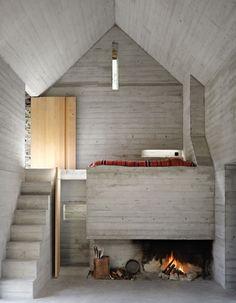 200 Years Old Stone Home in Switzerland by Buchner Brundler Architekten #cabin
