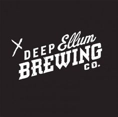 Deep Ellum Brewing Co. #logo #brewing #beer #typography