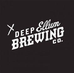 Deep Ellum Brewing Co. #logo #brewing #beer #typography