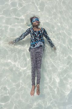 Weightless: Portraits of Maldivian Girls in The Ocean by Anastasia Korosteleva