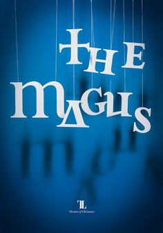 The Magus poster by re:design #posters #typography
