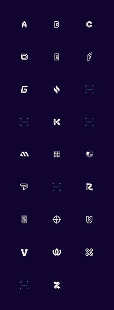 Logo Alphabet / Logofolio