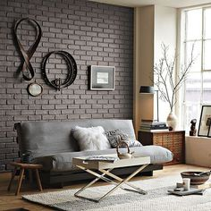 Couch wall setup #couch #furniture #workspace