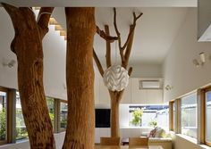 Garden Tree House by Hironaka Ogawa & Associates #interior #design #architecture
