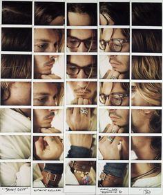 Polaroid Mosaics by Maurizio Galimberti   PICDIT #art #photography #photo #mosaic #photos