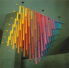grain edit · Harry Murphy + Friends #art #colors #sculpture #installation #harry murphyfriends