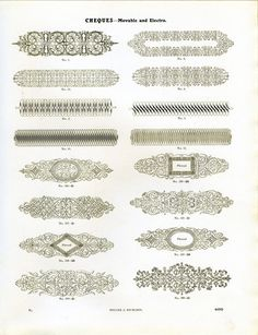 Cheques #type #specimen #typography