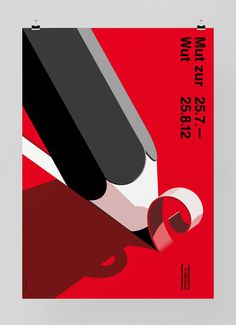 Graphic design #zur #mut #pencil #wut