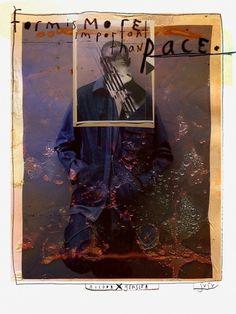 SVSV x Victor Antonio III - Serum Versus Venom #versus #venom #burn #serum #film #fashion #collage #editorial