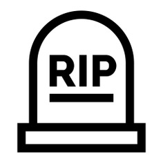 See more icon inspiration related to rip, death, grave, tomb, graveyard, cultures, funeral and cementery on Flaticon.