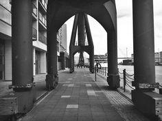 London royal docks   Flickr - david walby #white #london #& #black #walby #iphone #photography #david #dock