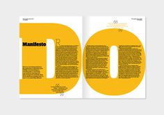 In Conversation: Do Something magazine #cover #typo #magazine #typography
