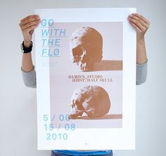 Go With The Fl  poster series  bleed - agency blog #print #graphic design #poster