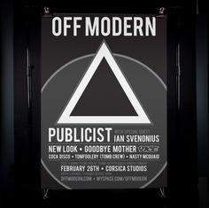 James Kirkups portfolio #off #designer #modern #london #portfolio #graphic #james #poster #kirkup