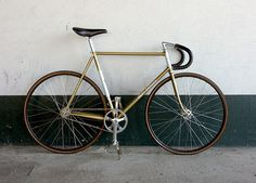 GoldMerckxTrack #eddie #bike