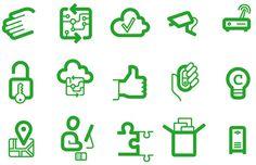 KPN nieuwe merkstijl #pictogram #icon #sign #picto #symbol