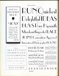 Parisian was designed in 1928 by Morris F. Benton. #typography