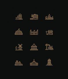 Tim Boelaars #icons #buildings