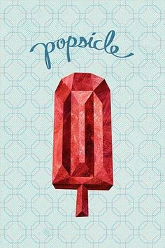 Design / popsicle #ice #illustration #popsicle