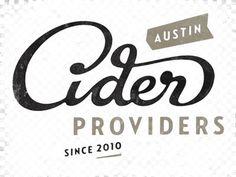 Dribbble - Cider Providers by Simon Walker #lettering #branding #illustration #hand #typography