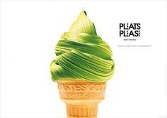 Issey Miyake Pleats Please: Anniversary, Ice Cream Cone #ytu