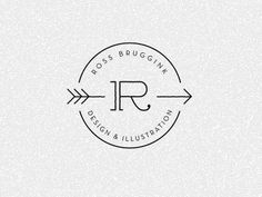 Dribbble LOGO!!!! by Ross Bruggink #logo #typography