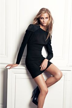 Fashion photography(Anna Selezneva for Mango Fall 2012, via prettylittlecravers) #fashion
