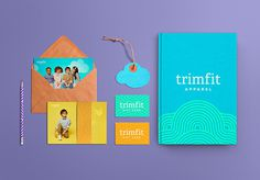 Trimfit #logotype #identity #stationery