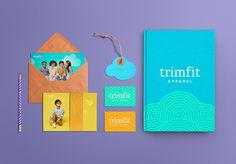 Trimfit #logotype #identity #stationery