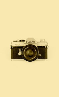 Canon TLb Art Print #cool #old #camera #print #design #retro #land #unique #photography #vintage #art #studio #society6 #antique #new