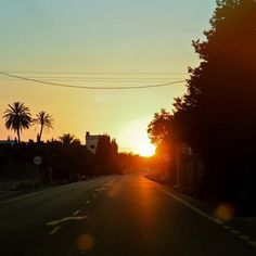 Inkstagram - Photo - #sunrise on the road