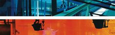 """Concept paintings for a Disney industrial film """"Steel and America"""" (1965). Click to enlarge. #peregoy #background #walt #disney #painting"""