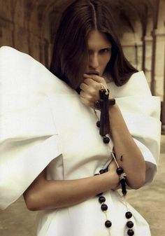Bianca Balti by Camilla Akrans #fashion #photography