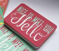 Self Promotional - Rachy McKenzie Graphic Design #business #card #promotional #rachy #mckenzie #typography