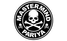 mastermind pariya logo #pariya #crossbones #blackwhite #mastermind #logo #skull