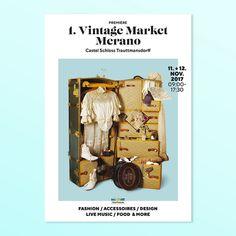 Vintage Market Posters on Behance