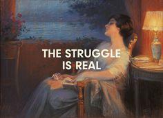 tussenin #struggle
