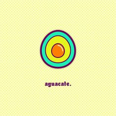 """Aguacate"" by Molly Yllom #illustration #character #design"
