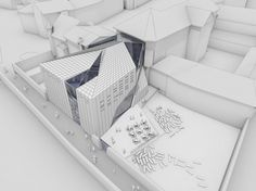 Architecture Photography: Brixen Public Library / AquiliAlberg - Brixen Public Library (106493) – ArchDaily #model #visual #architecture #white