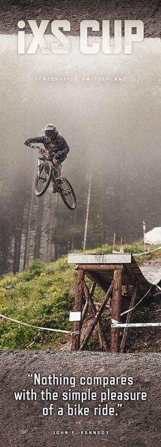 iXS Swiss Downhill Cup on Behance #swiss #freeride #caviola #downhill #bike #ixs #fun #action