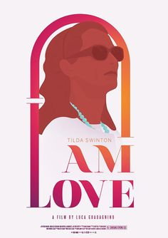 I am love - film poster #illustration #film poster #i am love #tilda swinton