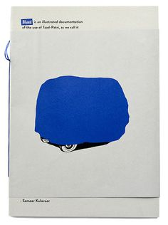 A flipbook is probably one of the earliest forms of motion animation which have managed to keep up with time. It's fun, takes seconds, fit #blue #illustartion #kulavoor