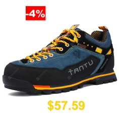 Men #Outdoor #Anti-slip #Comfortable #Casual #Hiking #Shoes #- #COBALT #BLUE